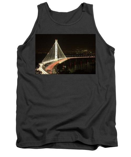 San Francisco Bay Bridge New East Span Tank Top