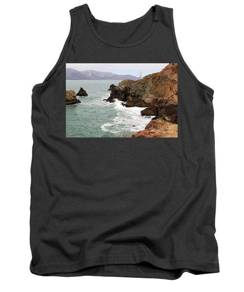 San Francisco Lands End Tank Top by Cheryl Del Toro