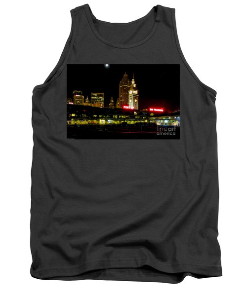San Francisco Nights Tank Top by Mitch Shindelbower