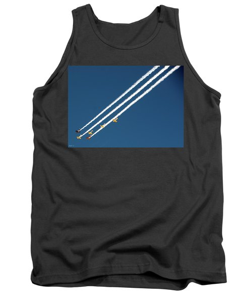 San Juan Aces Tank Top by Kevin Munro