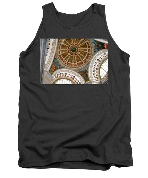 San Juan Capital Building Ceiling Tank Top by Lois Lepisto
