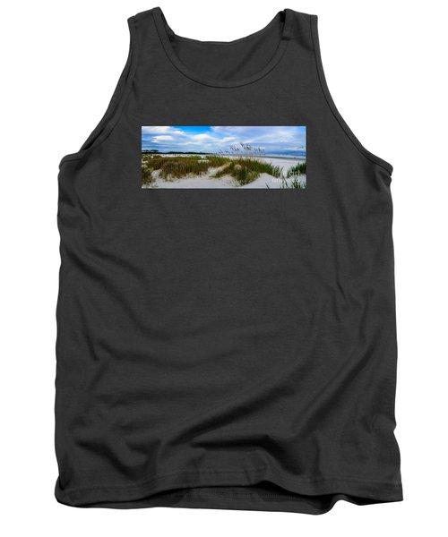 Sand Dunes And Blue Skys Tank Top