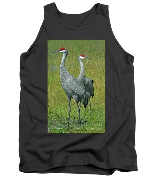 Sandhill Cranes He And She Tank Top