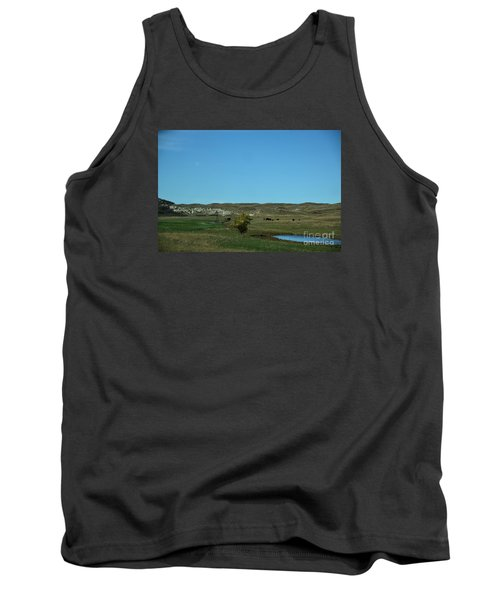 Tank Top featuring the photograph Sandhills Ranch by Mark McReynolds