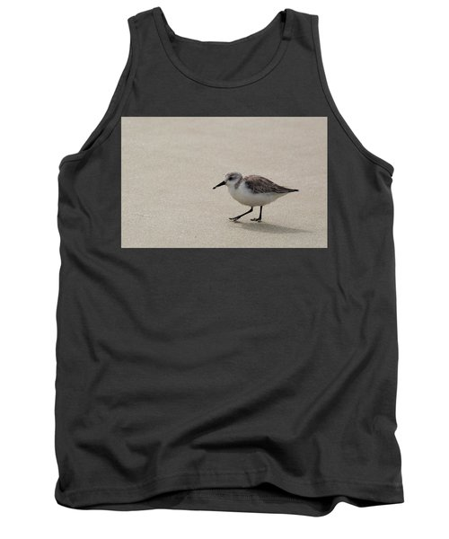 Sandpiper At The Beach Tank Top
