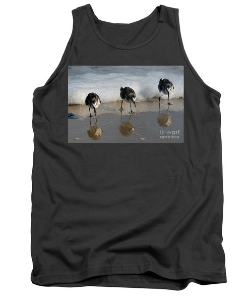 Sandpipers Feeding Tank Top