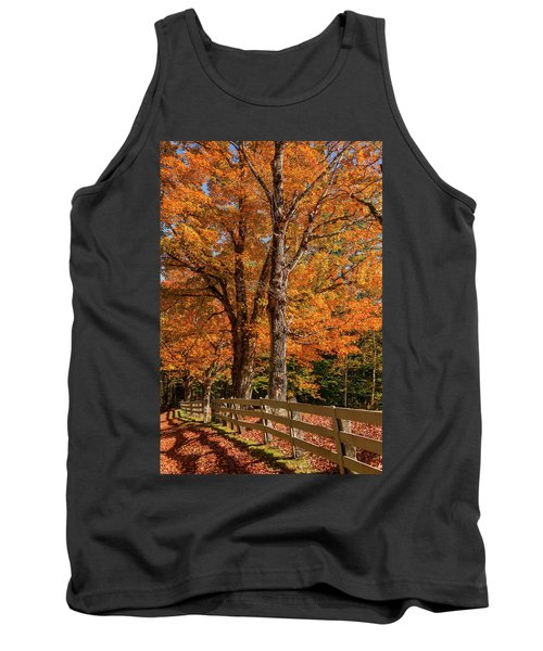Sandwich Autumn Tank Top