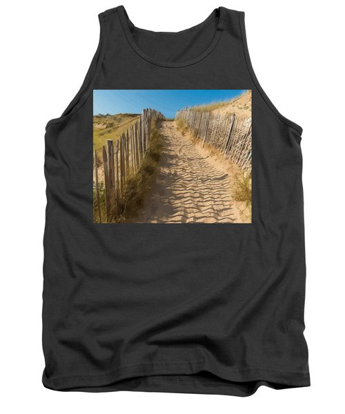 Sandy Pathway To The Beach Tank Top