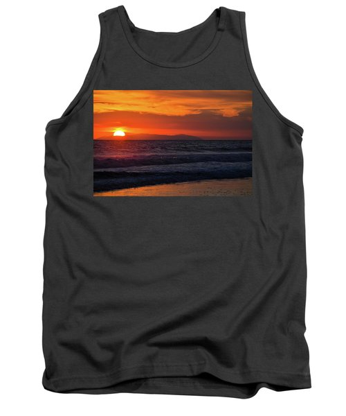 Tank Top featuring the photograph Santa Catalina Island Sunset by Kyle Hanson
