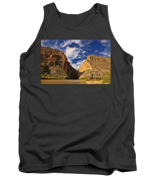 Santa Elena Canyon 3 Tank Top by Judy Vincent