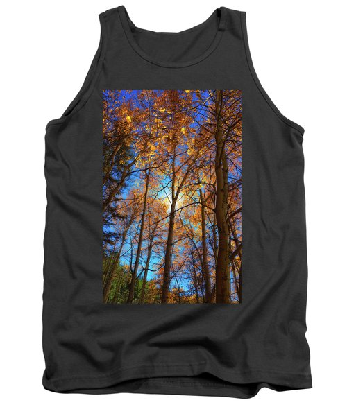 Tank Top featuring the photograph Santa Fe Beauty II by Stephen Anderson