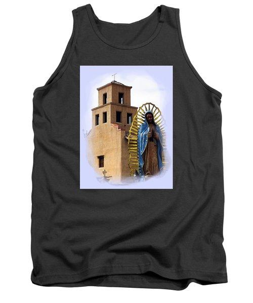 Tank Top featuring the photograph Santuario De Guadalupe Santa Fe New Mexico by Kurt Van Wagner