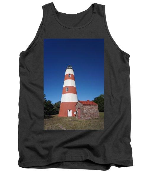 Sapelo Island Lighthouse Tank Top