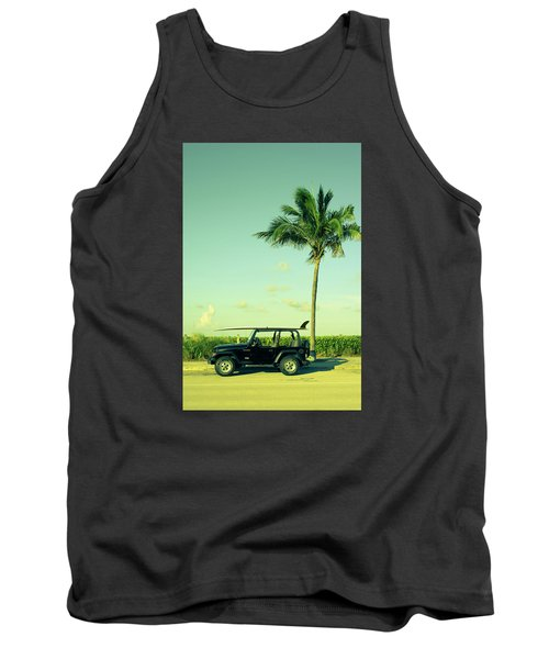 Tank Top featuring the photograph Saturday by Laura Fasulo