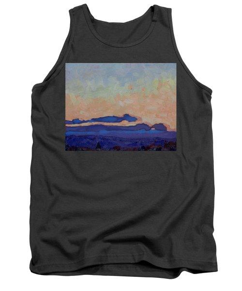 Saturday Stratocumulus Sunset Tank Top
