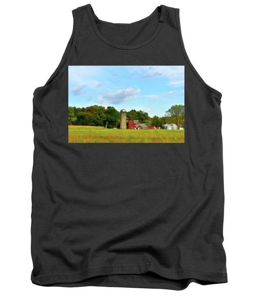 Sauer Farm, Mt. Marion Tank Top