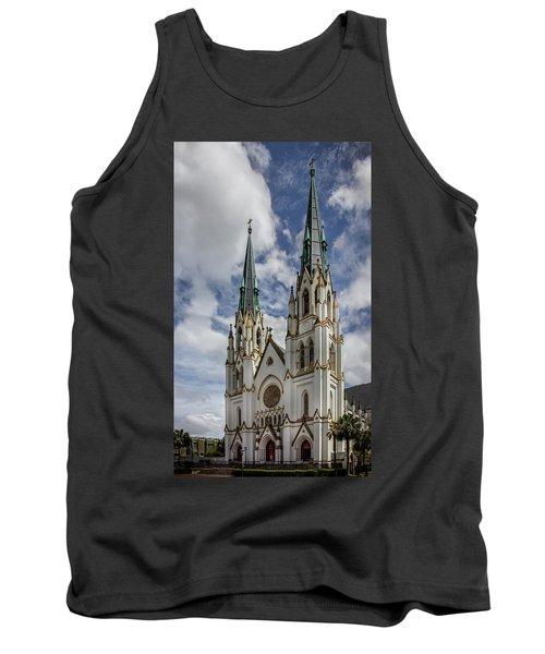Savannah Historic Cathedral Tank Top
