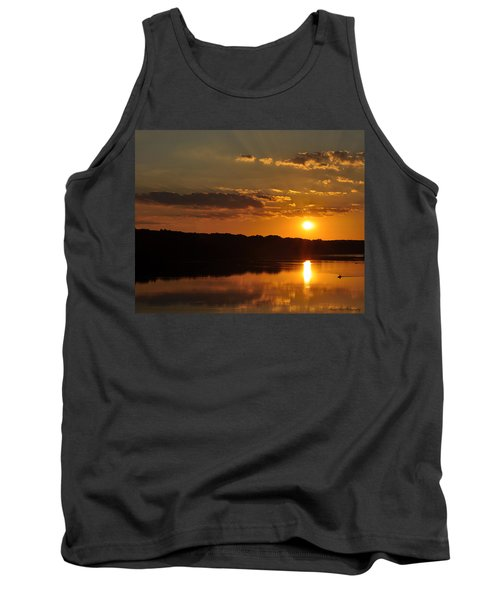 Savannah River Sunset Tank Top