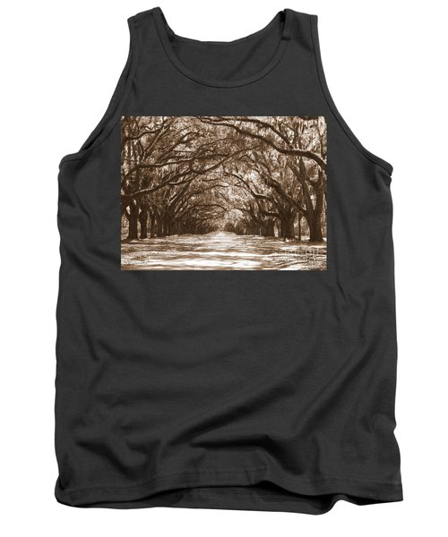 Savannah Sepia - Glorious Oaks Tank Top
