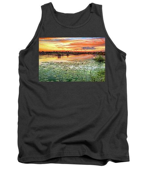 Savannas Sunset Tank Top