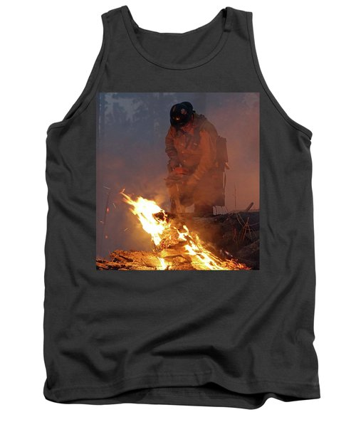 Sawyer, North Pole Fire Tank Top