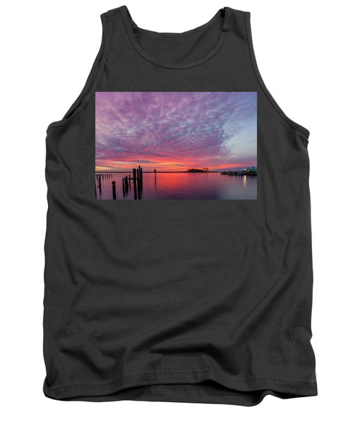 Saxis Sunset Tank Top by David Cote