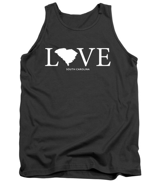Sc Love Tank Top by Nancy Ingersoll