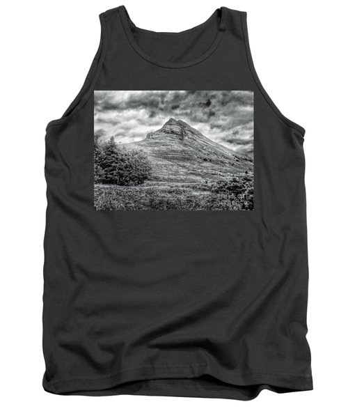 Scafell Pike In Greyscale Tank Top