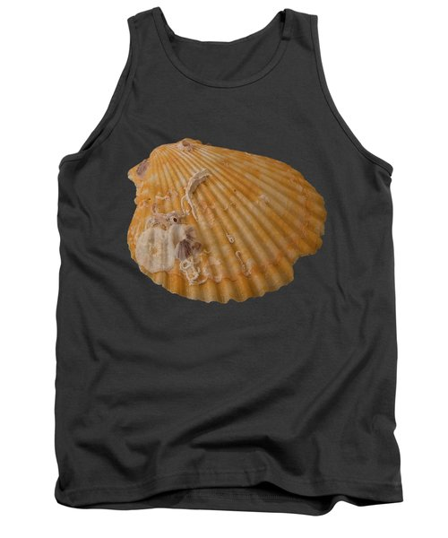 Scallop Shell With Guests Transparency Tank Top