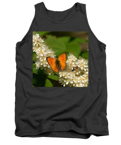 Tank Top featuring the photograph Scarce Copper 2 by Jouko Lehto