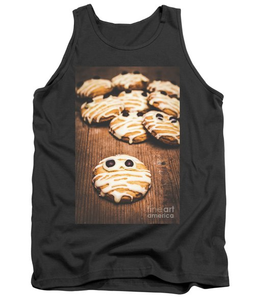Scared Baking Mummy Biscuit Tank Top