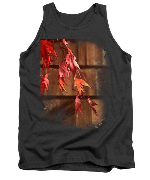 Scarlet Cascade Tank Top