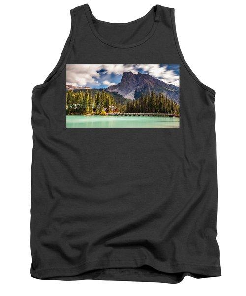 Scenic Emerald Lake  Tank Top