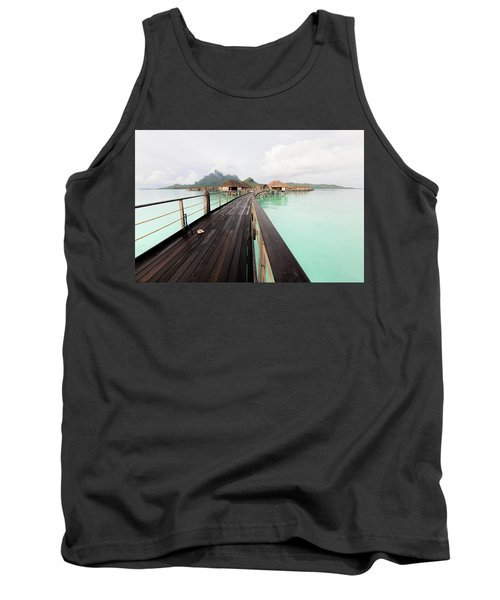 Scenic Walk To The Bungalow Tank Top