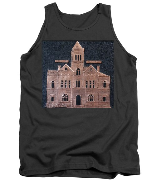 Schley County, Georgia Courthouse Tank Top