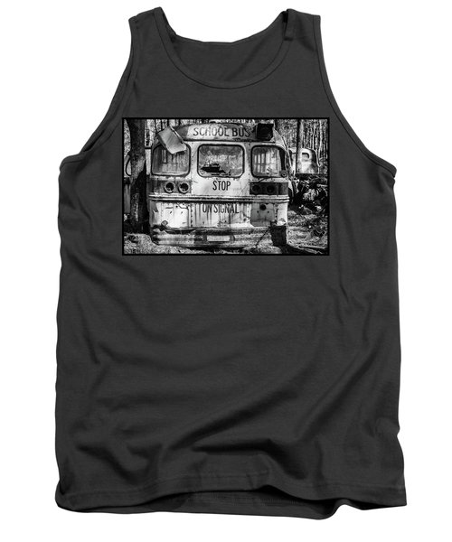 School Bus Tank Top