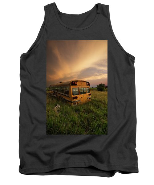 Tank Top featuring the photograph School's Out  by Aaron J Groen