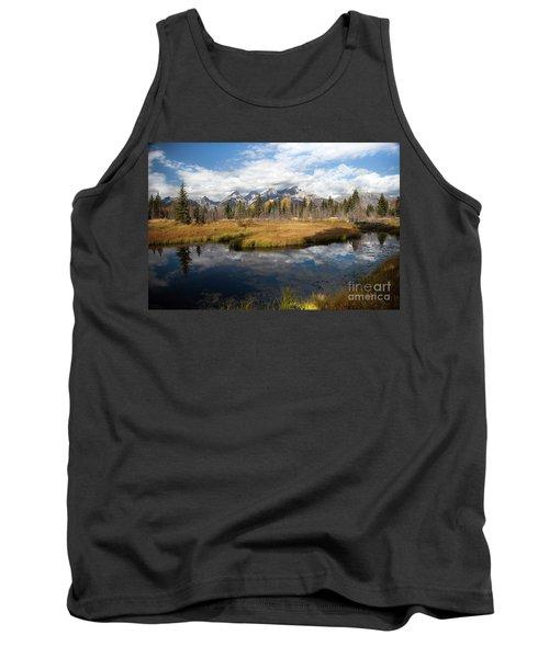 Schwabachers Landing, Grand Teton National Park Wyoming Tank Top