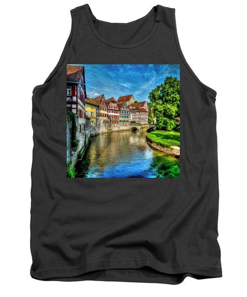Tank Top featuring the photograph Schwabish Hall by David Morefield