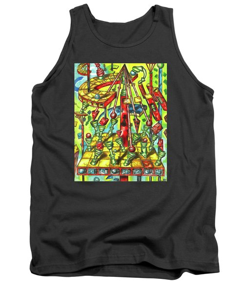 Science Of Chess Tank Top