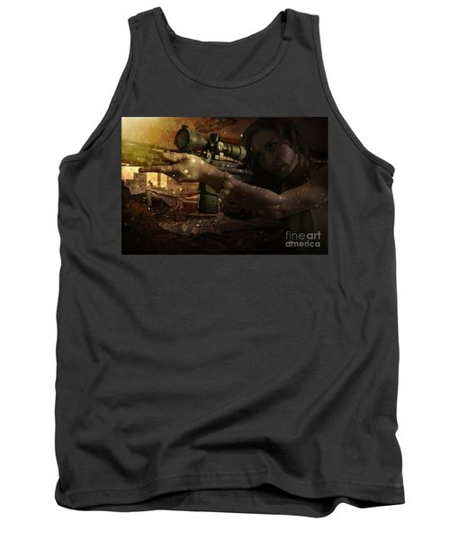 Scopped Tank Top