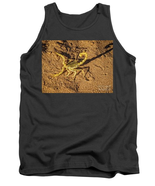 Tank Top featuring the photograph Scorpion by Robert Bales