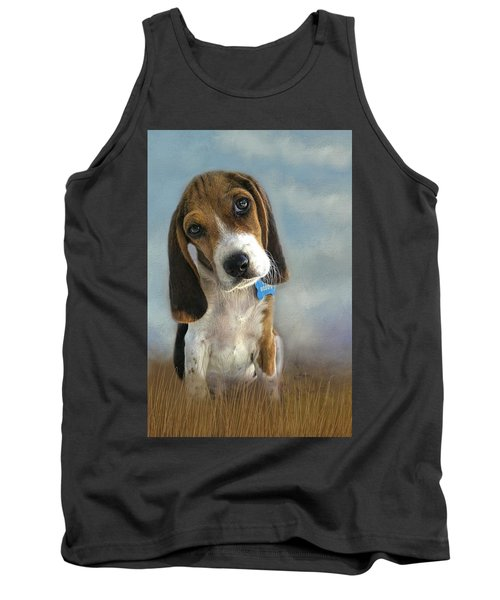 Tank Top featuring the photograph Scout by Steven Richardson