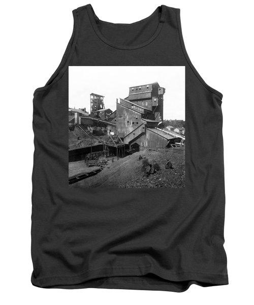 Scranton Pennsylvania Coal Mining - C 1905 Tank Top
