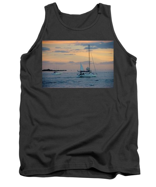 Sd Sunset 3 Tank Top