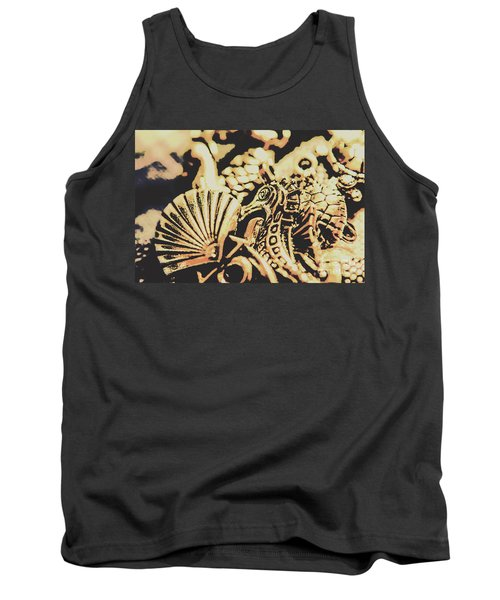 Sea Abstract From The Nautics  Tank Top