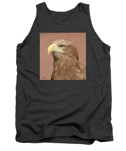 Tank Top featuring the photograph Sea Eagle by Roy McPeak