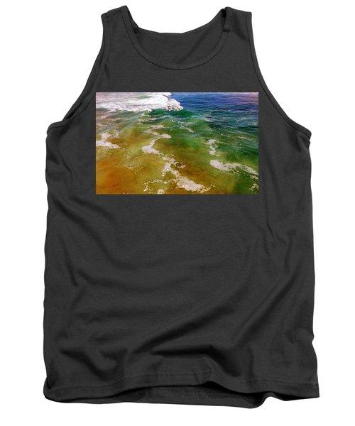 Colorful Ocean Photo Tank Top