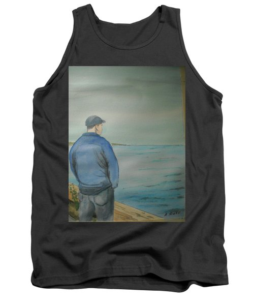 Sea Gaze Tank Top by Anthony Ross