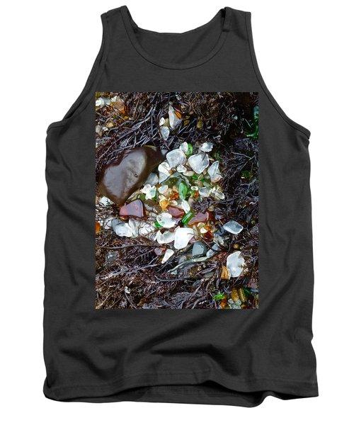Sea Glass Nest Tank Top by Amelia Racca